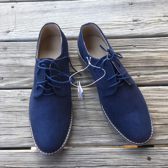 2cbe196a6274de Dark Blue Oxfords